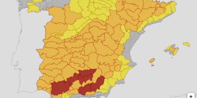 ola calor espana mediterraneo 2021-Digital de León
