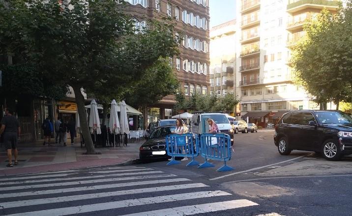 prohibido circular calle leon-Digital de León