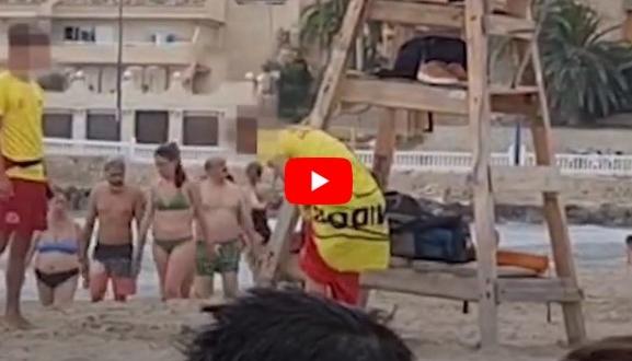 El socorrista más sexy de la playa de Benidorm