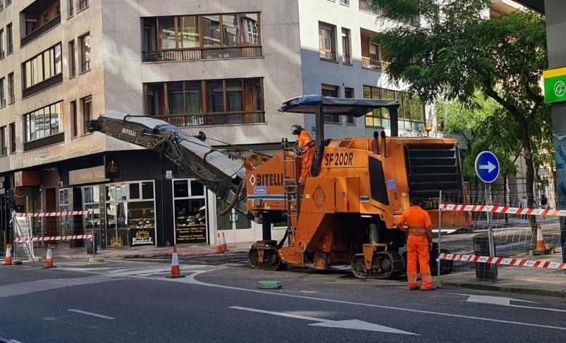 trabajos asfaltado calle leon-Digital de León