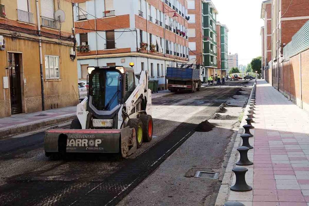reanuda plan de asfaltado leon-Digital de León