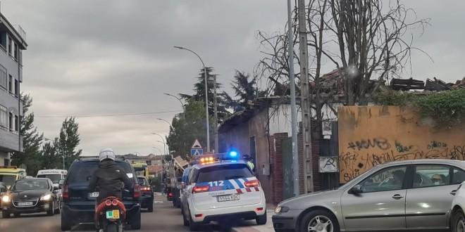 derrumbamiento casa villaobispo-Digital de León