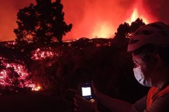 la erupcion volcan prolongarse la palma-Digital de León