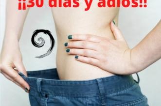 como perder peso en 30 días