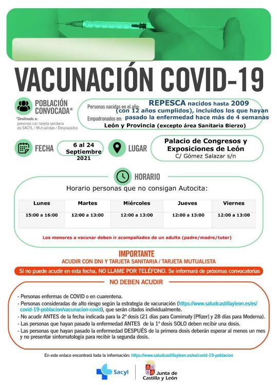 repesca leon vacuna coronavirus-Digital de León