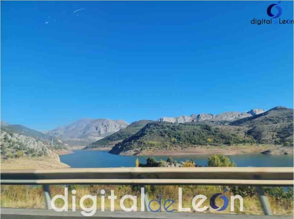 pantano de luna preocupante caudal- Digital de León